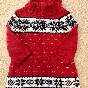 🦄18-24 month baby gap sweater dress